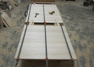 Dining table in making